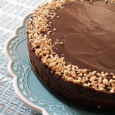 עוגת שוקולד וקפה