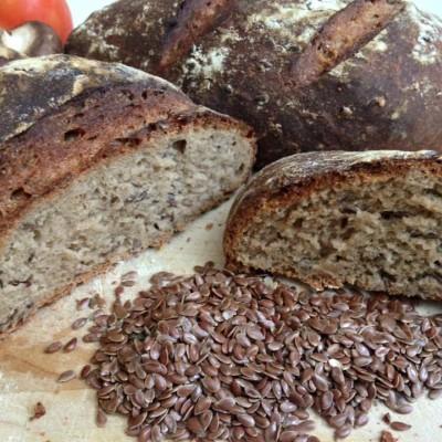 לחם פשתן