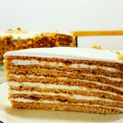 עוגת מדוביק-עוגת דבש רוסית