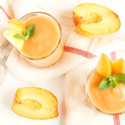משקה אפרסקים מרענן