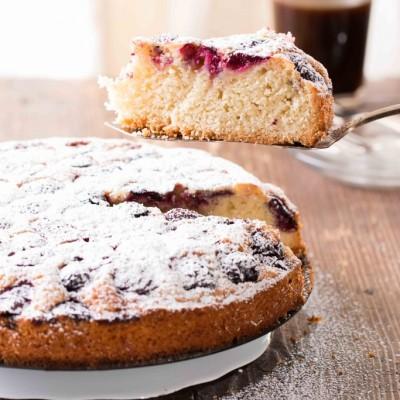 עוגת דובדבנים של פעם