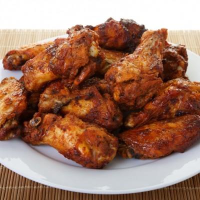 כנפיים מתובלות בתנור