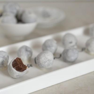 טראפלס שוקולד פליאו טבעוני