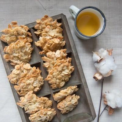 עוגיות שקדים ללא גלוטן וסוכר