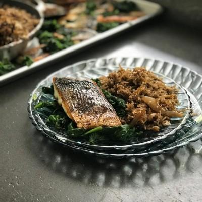 דג צלוי ברוטב תמרינדי