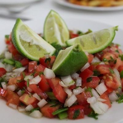 סלט מקסיקני (פיקו דה גאיו)