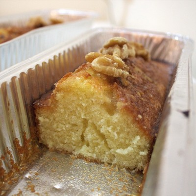 עוגת מייפל ואגוזים
