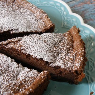 עוגת נוטלה משני מרכיבים