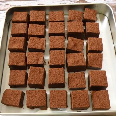 טראפל שוקולד ודבש