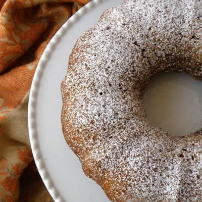עוגת מייפל בחושה