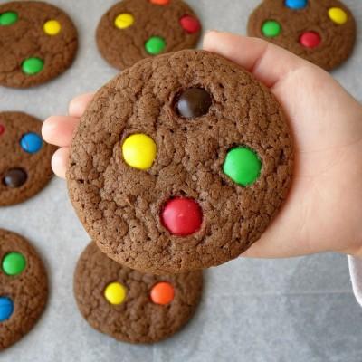 עוגיות נוטלה מ-4 רכיבים