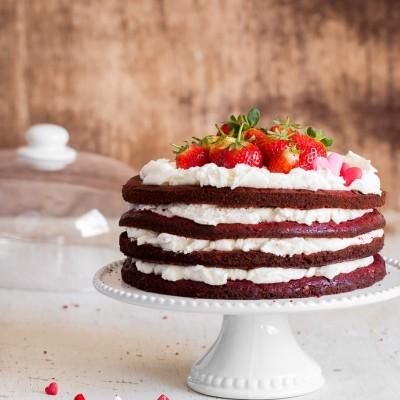 עוגת קטיפה אדומה