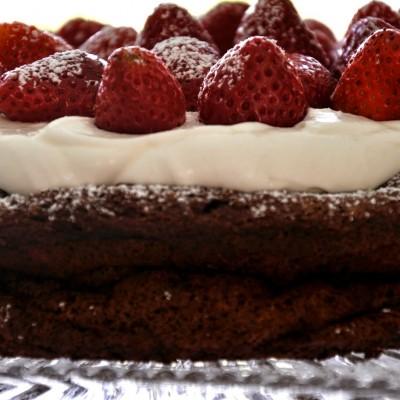 עוגת סופלה מקושטת!