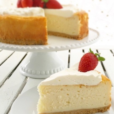 עוגת גבינה אפויה ואוורירית
