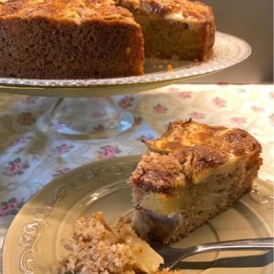 עוגת תפוחים שבדית