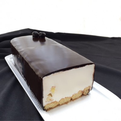 עוגת גבינה גלידה עשירה מאוד