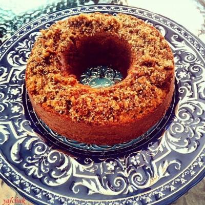 עוגת טחינה שומשום ואגוזי מלך